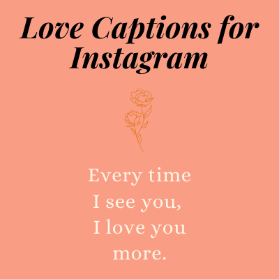 Love Captions for Instagram