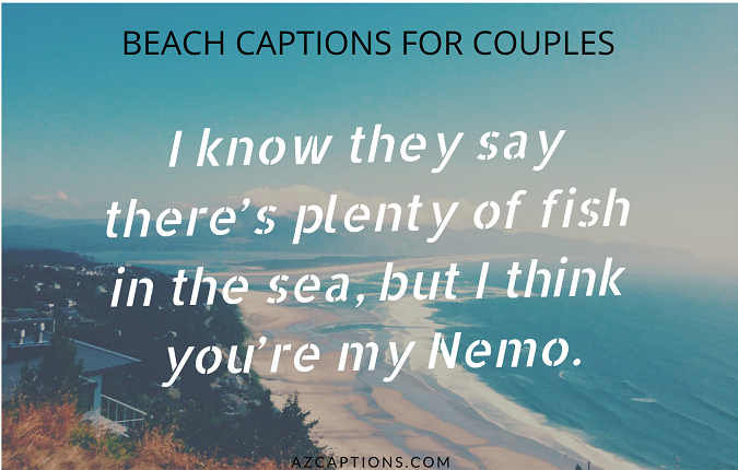 BEACH CAPTIONS FOR COUPLES