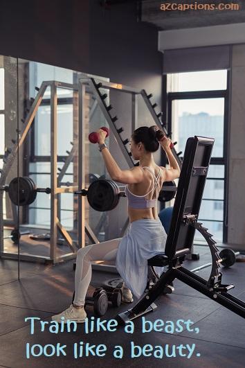 Fitness Status for Instagram
