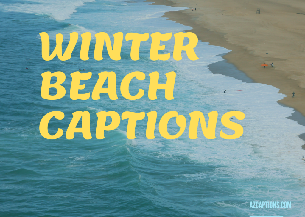 WINTER BEACH CAPTIONS