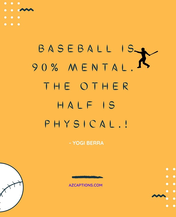 Baseball Quotes for Instagram