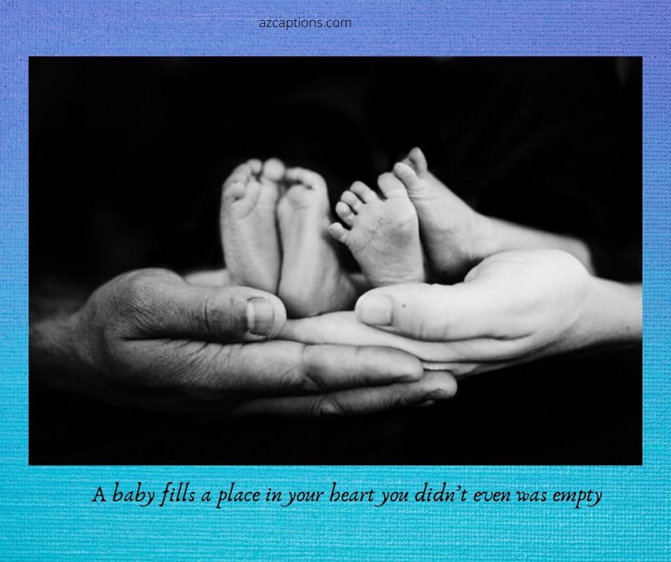 Creative Baby Announcement Captions
