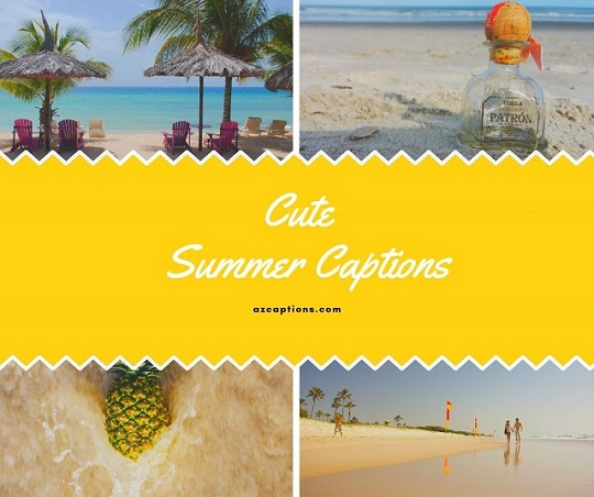 Cute Summer Captions