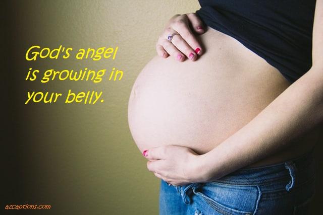 Maternity Photo Captions