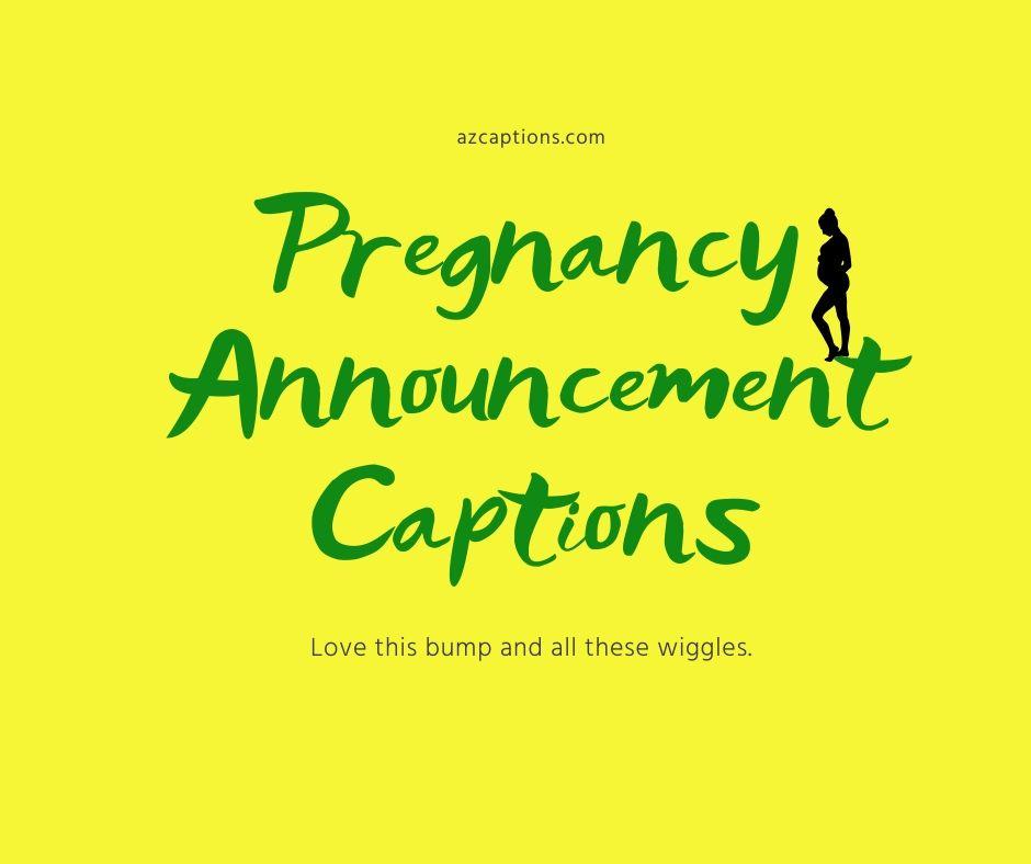 pregnancy announcement quotes